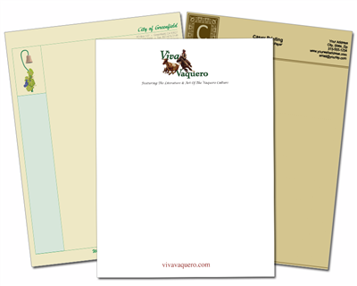 Letterhead Full Color
